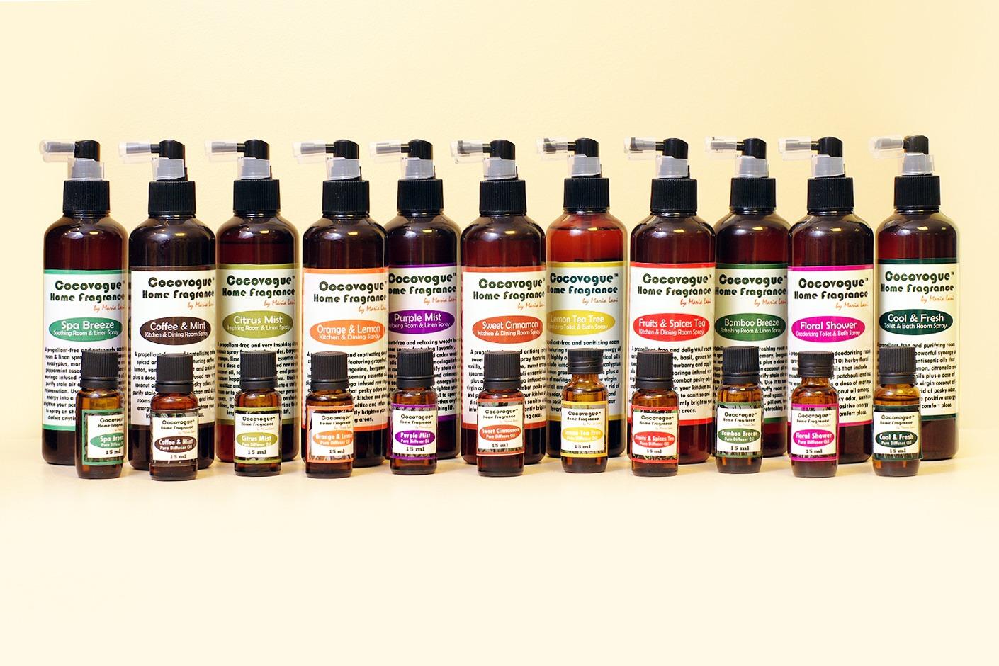 Cocovogue Wellness Suite Room Sprays