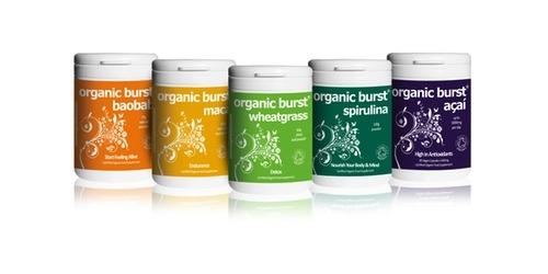 Organic Burst Range - Organic Burst Baobab Natural Powder